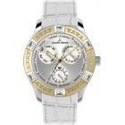 Montre - Jacques Lemans - Bracelet Cuir Blanc 1-1492D