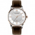 Montre - Jacques Lemans - Bracelet Cuir Marron 1-1615F