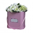 Seau de fleurs en carton moyen