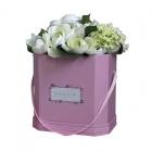 Seau de fleurs en carton grand