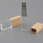 Clé USB Crystal bois