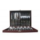 Set Cuillères Fourchettes et Couteaux Stainless - 24 Pieces