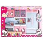 Cuisine pour poupée blanche et rose - Hello kitty