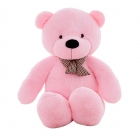 Peluche Calin Ours 50 Cm Rose