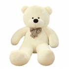 Peluche Calin Ours 50 Cm Blanc