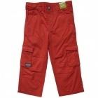 Pantalon léger rouge orangé