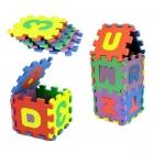 Puzzle Eva - Lettres et nombres - 36 pcs