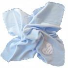 Couverture polaire bleue
