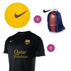 Pack Maillot barcelona + Ballon+ Sac a dos Nike