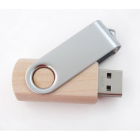 Clé USB Twist bois et métal