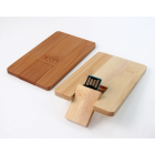 Clé USB carte bois