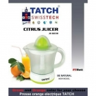 TATCH Swiss tech - Presse orange ELECTRIQUE