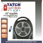 TATCH Swiss tech - Ventilateur Noir