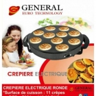 GENERAL - Crêperie Electrique Ronde