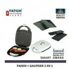 Tatch Swiss Tech - Presse Panini 2 en 1