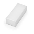 Boite en carton blanche