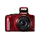Canon PowerShot SX170 IS - 16 Mégapixels – Rouge