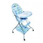 Chaise haute Bleue