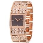 Montre - Clyda De Paris - Bracelet en Acier Inoxydable Doré Rose Clc0083Hnix