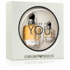 Coffret Emporio Because It's You - Giorgio Armani
