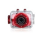 EASYPIX Goxtreme Race Camera Sportive - 5 MP - Rouge