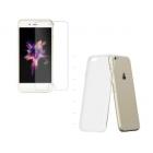 Coque iPhone7/7Plus + protection d'écran en verre trempé