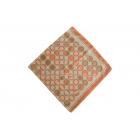 Foulard imprimé effet 100% soie - Motifs cercles