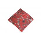 Foulard imprimé effet 100% soie - Motifs variés