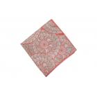 Foulard imprimé effet 100% soie - rose