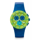 Montre Swatch Blue Rug