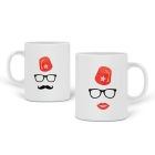 Mugs couple Tarbouche