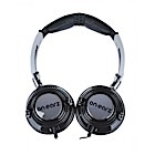 ON-EARZ Casque audio pliable Lollipop - Noir Gris
