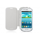 FLIP COVER SAMSUNG Galaxy S3 MINI BLANC