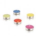 Set 10 bougies couleurs