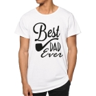 T-shirt Best Dad Ever pipe