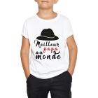 T-shirt enfant Meilleur papa