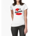 T-shirt i Love my mama