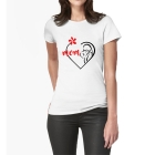 T-shirt Love mom
