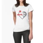 T-shirt Love mom