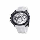 Montre - Bracelet Blanc - Time Force Tf3330M11