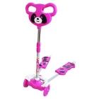 Trottinette Double Panda – 4 roues – Rose