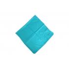 Foulard uni effet 100% soie - Turquoise