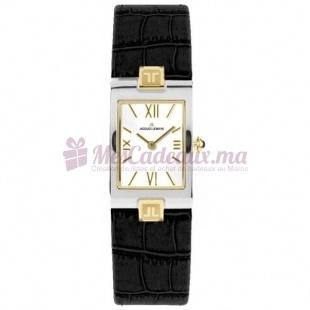 Montre - Jacques Lemans - Bracelet Cuir Noir 1-1213K 1-1213K