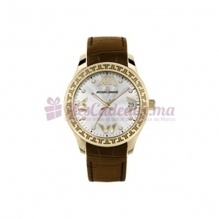 Montre - Jacques Lemans - Bracelet Cuir Marron 1-1578D