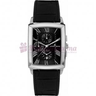 Montre - Jacques Lemans - Bracelet cuir noir 1-1609A