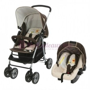 WINNIE Duo poussette Combinée Shopper 10