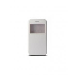 Ksix - Flip Case pour iPhone 6 Plus, 6S Plus White