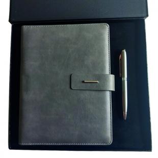 Coffret agenda + stylo Gray