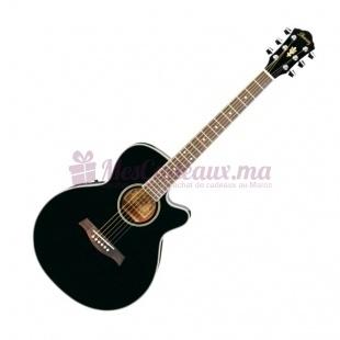 Guitare Folk - Ibanez - Aeg8E-Bk