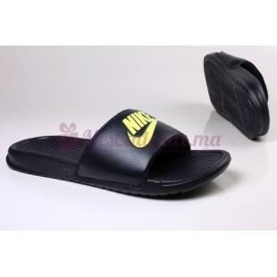 Sandals bleues Benassi Jdi - Homme